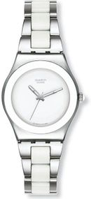 Swatch TRESOR BLANC YLS141GC Damenarmbanduhr Swiss Made