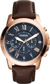 Fossil GRANT FS5068 Herrenchronograph Design Highlight
