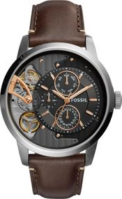 Fossil TOWNSMAN ME1163 Uhr Offene Unruhe