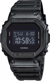 Casio G-Shock G-Classic DW-5600BB-1ER Digitaluhr für Herren stoßresistent