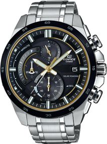 Casio Edifice Sport EQS-600DB-1A9UEF Herrenchronograph Solarbetrieb