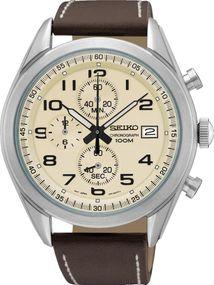Seiko Chrono SSB273P1 Herrenchronograph Massives Gehäuse