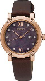 Seiko Classic SXDG88P1 Damenarmbanduhr Mit Diamant