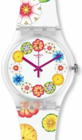Swatch KUMQUAT SUOK127 Unisexuhr Swiss Made