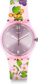 Swatch MERRY BERRY GP150 Damenarmbanduhr Design Highlight