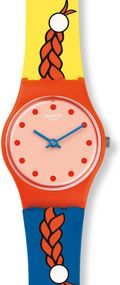 Swatch JOLIES COUETTES LO110 Unisexuhr Swiss Made