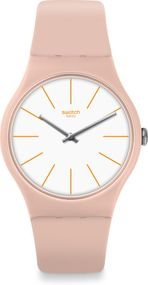 Swatch BEIGESOUNDS SUOT102 Damenarmbanduhr Swiss Made