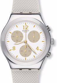 Swatch HELLO PRETTY YCS114 Damenchronograph Swiss Made