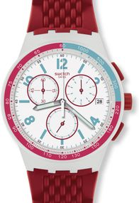 Swatch RED TRACK SUSM403 Herrenchronograph Swiss Made