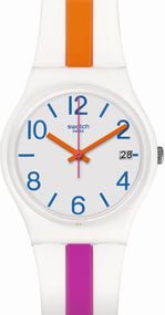 Swatch PINKLINE GW408 Unisexuhr Swiss Made