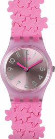 Swatch PINK LOOP LP146 Damenarmbanduhr Swiss Made