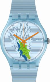Swatch POOL SURPRISE SUOS107 Unisexuhr Swiss Made