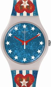 Swatch ANAVAH SUOT101 Unisexuhr Swiss Made