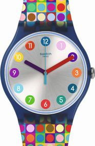 Swatch ROUNDS AND SQUARES SUON122 Unisexuhr Swiss Made