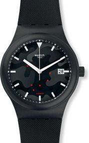 Swatch SISTEM CLOUDS SUTA401 Herren Automatikuhr Swiss Made