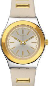 Swatch GOLDEN STEPS YLS195 Damenarmbanduhr Swiss Made