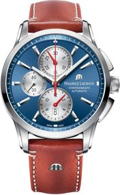 Maurice Lacroix Pontos PT6388-SS001-430-2 Herren Automatikchronograph Massives Gehäuse