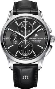 Maurice Lacroix Pontos PT6388-SS001-330-1 Herren Automatikchronograph Massives Gehäuse