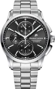 Maurice Lacroix Pontos PT6388-SS002-330-1 Herren Automatikchronograph Massives Gehäuse
