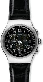 Swatch YOUR TURN BLACK YOS440 Herrenarmbanduhr Swiss Made