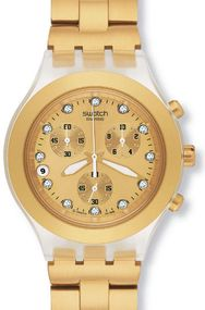 Swatch FULL-BLOODED SVCK4032G Damenarmbanduhr Swiss Made