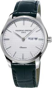 Frederique Constant Geneve Classics Quartz FC-225ST5B6 Herrenarmbanduhr Mit Wechselband