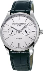 Frederique Constant Geneve Classics Quartz FC-259ST5B6 Herrenarmbanduhr Mit Wechselband