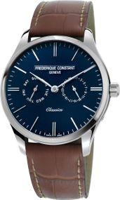 Frederique Constant Geneve Classics Quartz FC-259NT5B6 Herrenarmbanduhr Mit Wechselband
