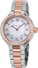 Frederique Constant Geneve Horological Smartwatch FC-281WHD3ERD2B Smartwatch Klassisch schlicht