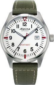 Alpina Geneve Startimer Pilot AL-240S4S6 Herrenarmbanduhr Sehr gut ablesbar