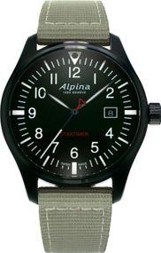 Alpina Geneve Startimer Pilot AL-240B4FBS6 Herrenarmbanduhr Sehr gut ablesbar