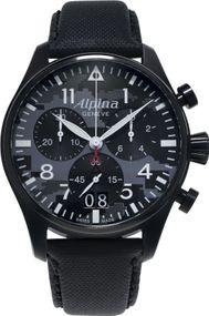 Alpina Geneve Startimer Pilot AL-372BMLY4FBS6 Herrenchronograph Fliegeruhr
