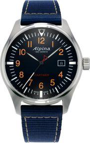 Alpina Geneve Startimer Pilot AL-240N4S6 Herrenarmbanduhr Sehr gut ablesbar
