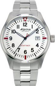Alpina Geneve Startimer Pilot AL-240S4S6B Herrenarmbanduhr Sehr gut ablesbar