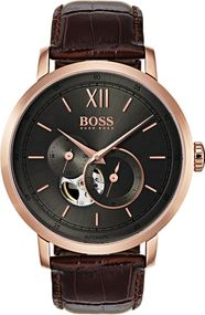 Boss SIGNATURE TIMEPIECE COLLECTION 1513506 Herren Automatikuhr Klassisch schlicht
