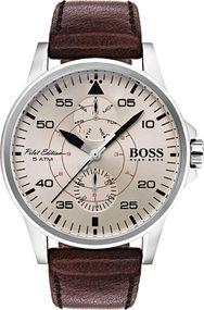 Boss AVIATOR 1513516 Herrenarmbanduhr Klassisch schlicht