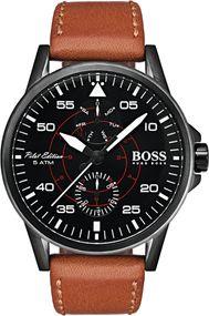 Boss AVIATOR 1513517 Herrenarmbanduhr Klassisch schlicht