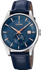 Festina Klassik F20277/2 Herrenarmbanduhr Design Highlight