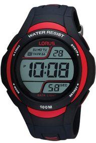 Lorus Sport R2307EX9 Herrenchronograph Digitale Chronographenanzeige