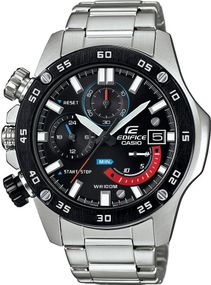 Casio Edifice Chrono Sport EFR-558DB-1AVUEF Herrenchronograph Massives Gehäuse