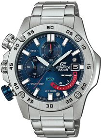 Casio Edifice Chrono Sport EFR-558D-2AVUEF Herrenchronograph Massives Gehäuse
