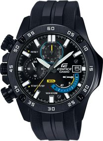 Casio Edifice Chrono Sport EFR-558BP-1AVUEF Herrenchronograph Massives Gehäuse