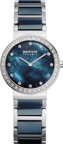 Bering Ceramic 10729-707 Damenarmbanduhr Mit Swarovski Kristallen