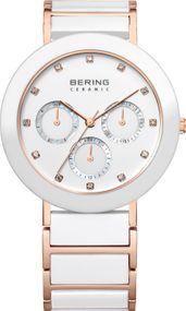 Bering Ceramic 11438-766 Damenarmbanduhr Mit Swarovski Kristallen