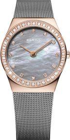 Bering Classic Collection 12430-369 Damenarmbanduhr Mit Swarovski Kristallen