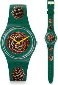 Swatch PINEZONE GG221 Damenarmbanduhr Design Highlight