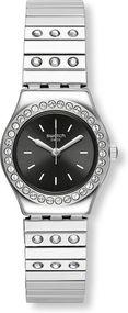 Swatch TAN LI YSS318B Damenarmbanduhr Mit Kristallsteinen