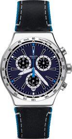 Swatch BLUE DETAILS YVS442 Herrenchronograph Sehr Sportlich