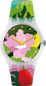 Swatch TROPICAL GARDEN SUOK132 Damenarmbanduhr