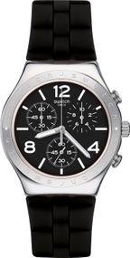 Swatch NOIR DE BIENNE YCS116 Herrenchronograph Sehr Elegant